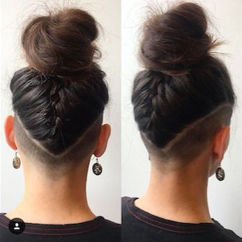 Undercut Hairstyle Idea The Defined V