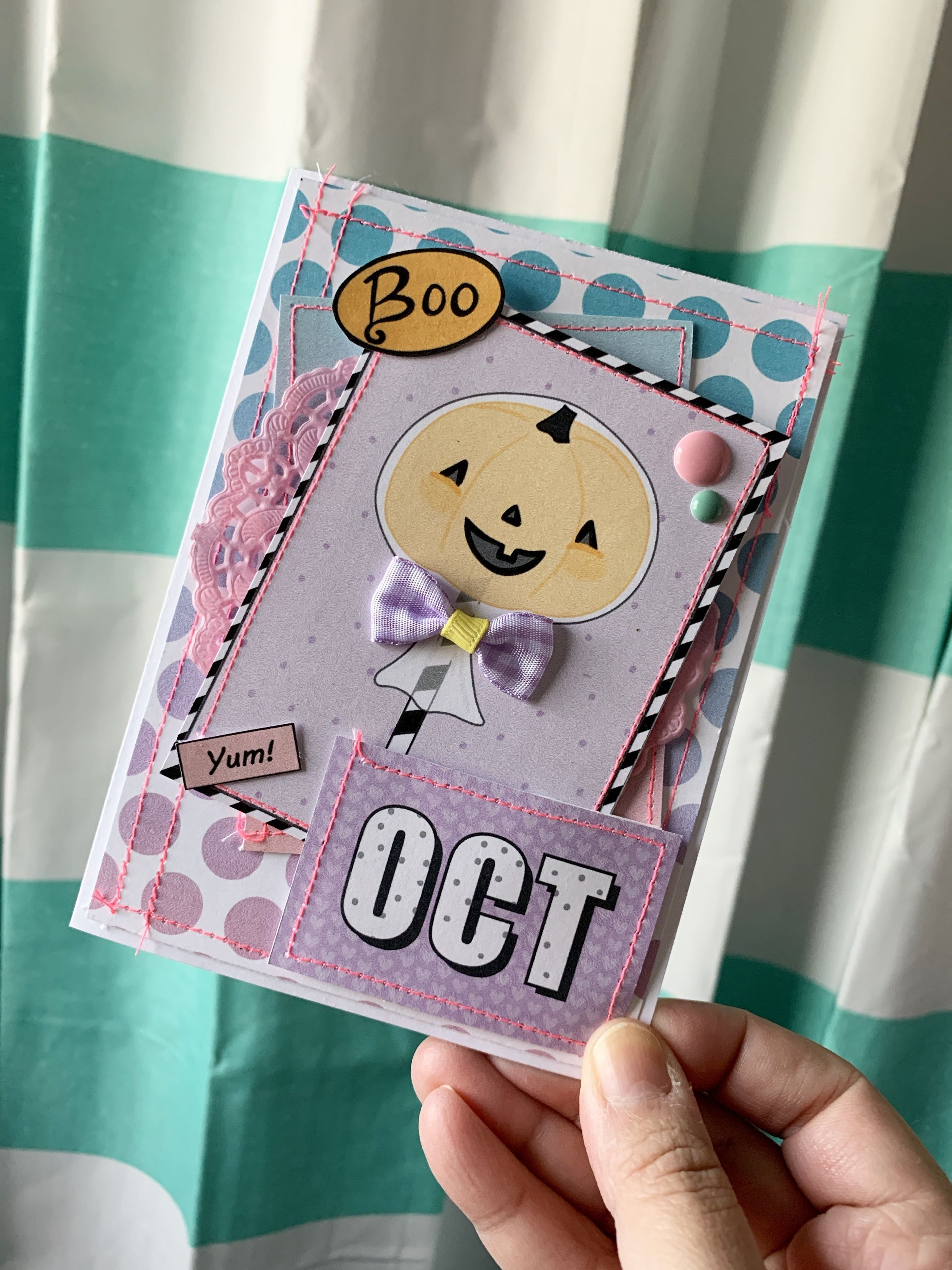 Pin by Cynthia on Pastelloween Paper Crafts Snail mail