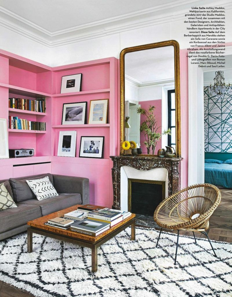 Barbie Pink Wall Paint Color | Pink Paint Color Schemes | Pinterest ...