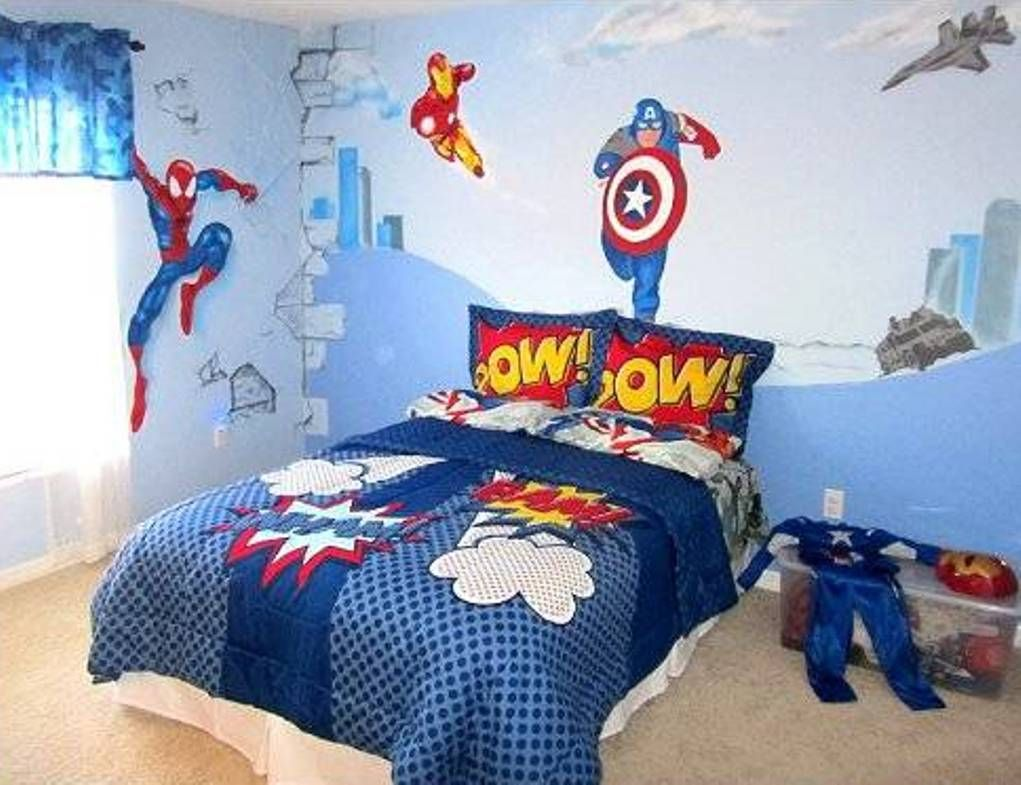 99 avengers kids room interior paint colors bedroom check more at rh pinterest com Avengers Initiative Chat Rooms Avenger Themed Boys Room