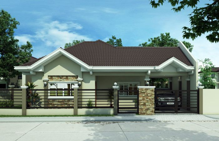 the best bungalow styles and plans in philippines bahay ofw rh pinterest com