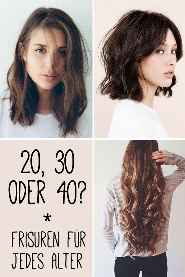 20 30 Oder 40 Das Sind Die Schonsten Frisuren Fur Jedes Alter 40er Frisuren Frisur Ab 40 Frisuren Lange Haare Schnitt