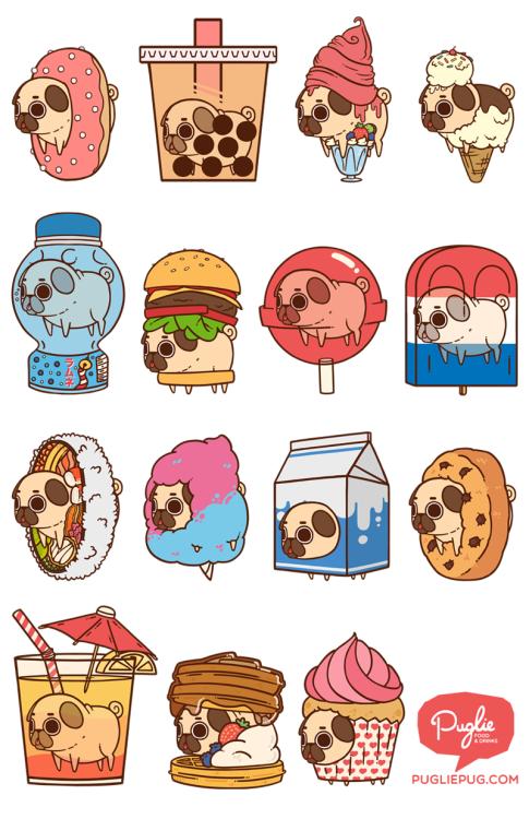All Up In Yo Foods Puglie Pinterest Cute Drawings Pugs And Cute