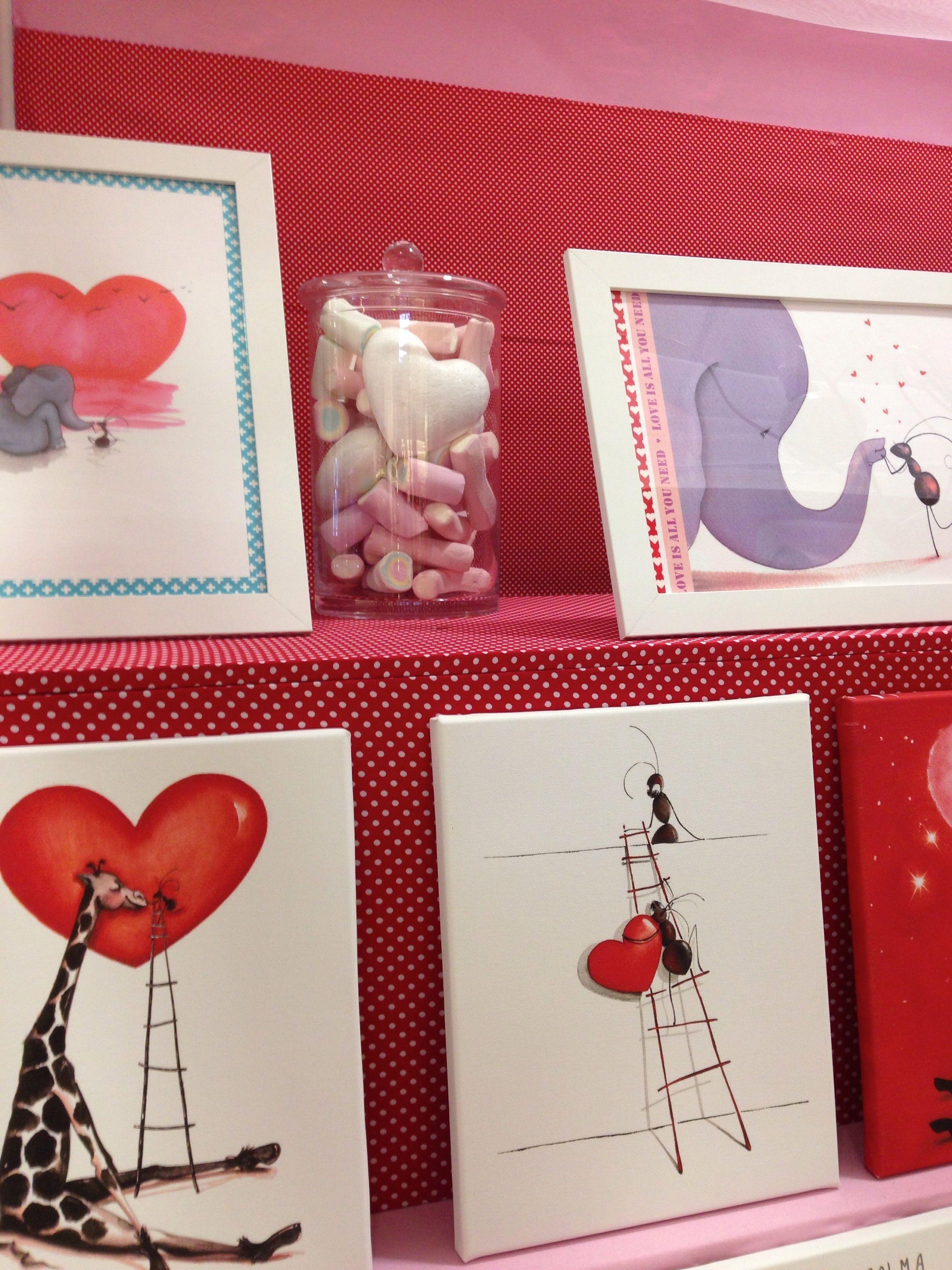 Cuadros y l minas con mensajes de amor y amistad para - Cuadros habitaciones infantiles ...