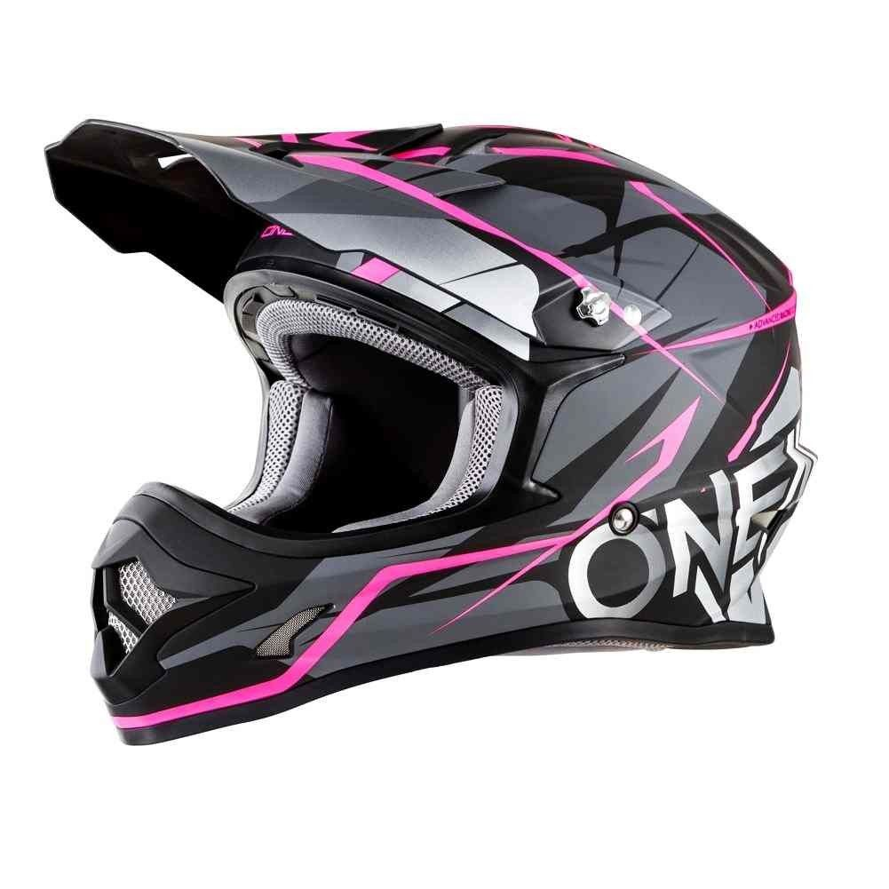 O Neal 3 Series Freerider Womens Motocross Helmets Motocross Helmets Bike Bicycle