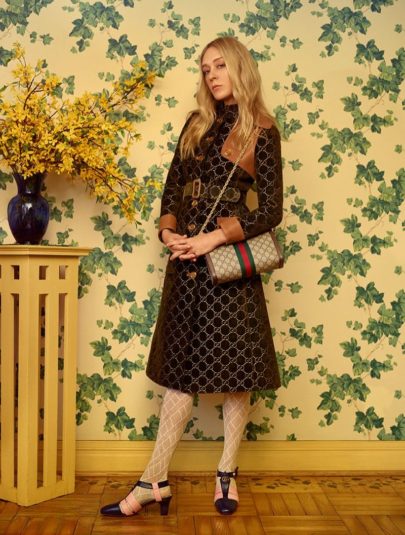 Chloe Sevigny   Gucci   Thomas Whiteside   Harper's Bazaar Russia