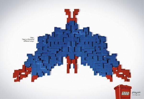 25 propagandas criativas da Lego   Criatives   Blog Design, Inspirações, Tutoriais, Web Design