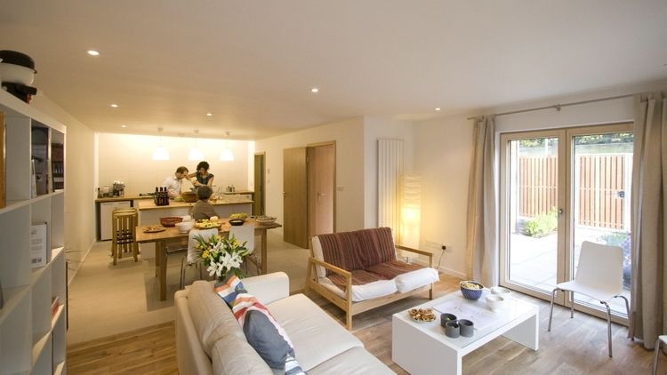 The Lime House SE15, new build house Kitchen living dining Our