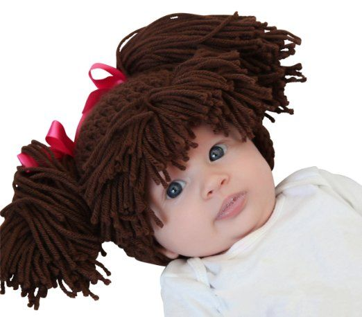 Amazon.com: Melondipity\'s Brunette Doll Baby Hat - Baby, Infant ...