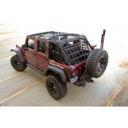 Cargo Net Black 07 15 Jeep 2 Door Wrangler 4 Door Jeep