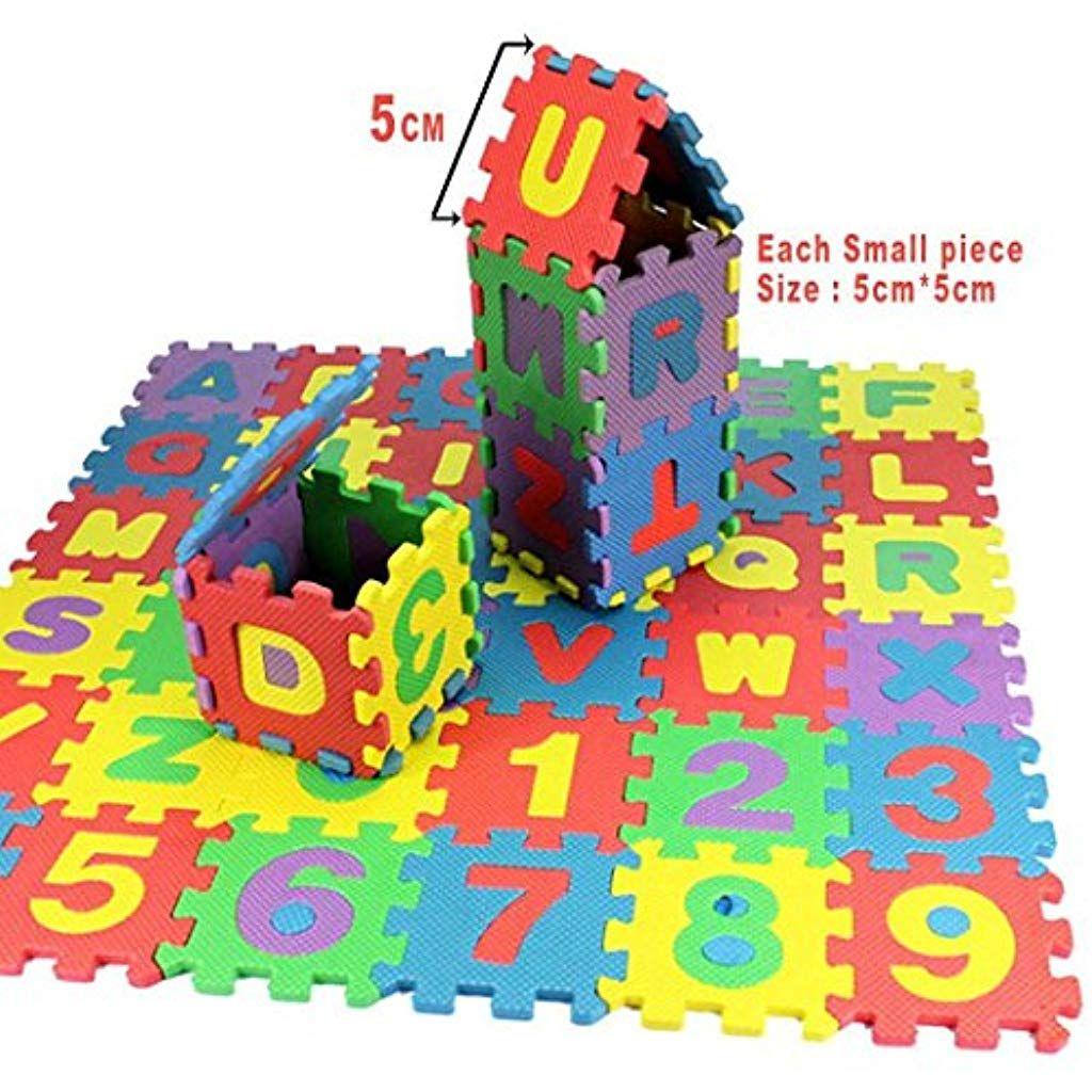 Cietact Puzzle Tapis Mousse Bebe 36pieces Tapis De Jeu Tres