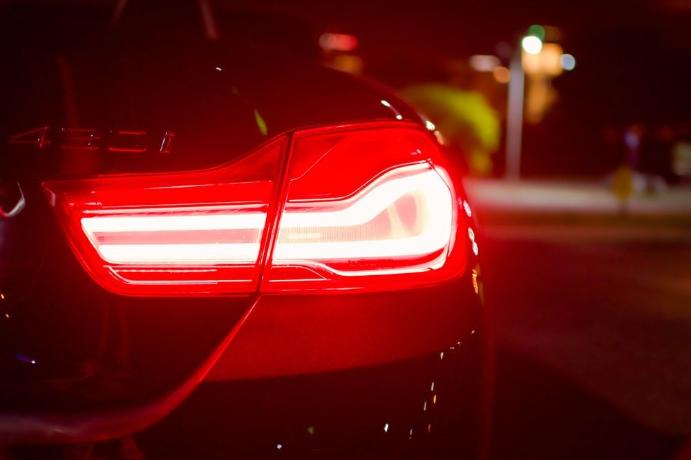 Awesome Car Tail Light Wallpaper 3d Wallpapers Tail Light Lit