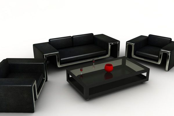 Dark Modern Table | Furnitures | Pinterest | Modern table, Modern ...