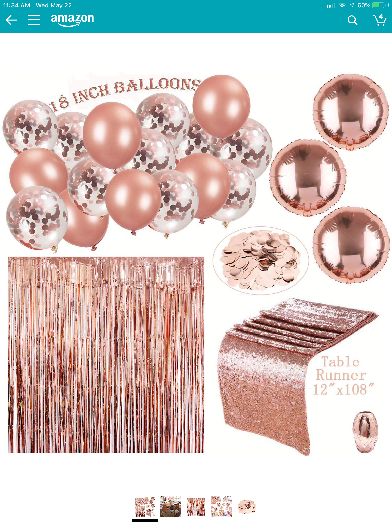 Pin By Zoe Nuijens On First Birthday Rose Gold Party Decor Rose Gold Party Gold Party Decorations