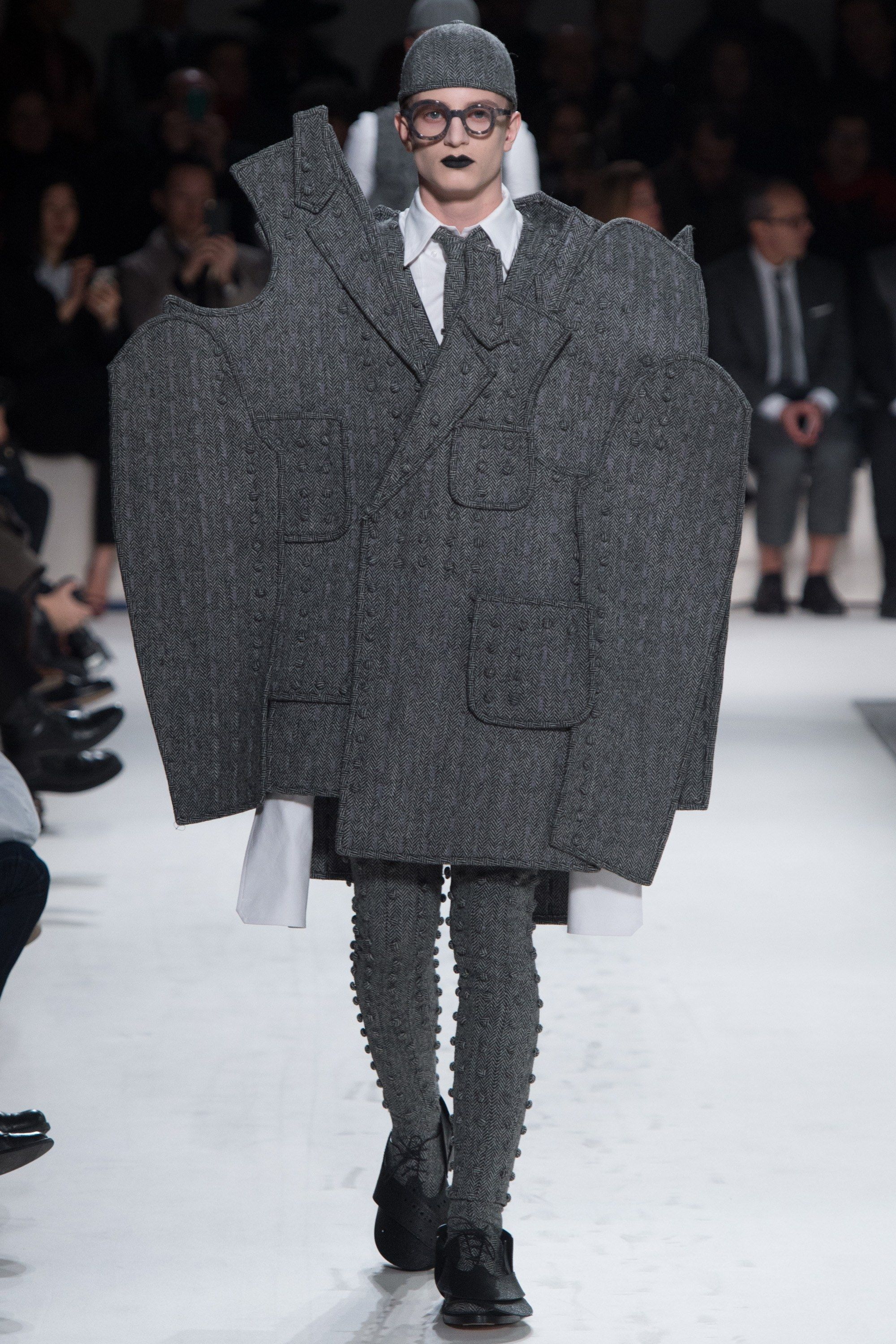 c95ee63a09b Thom Browne Fall 2017 Menswear Collection Photos - Vogue