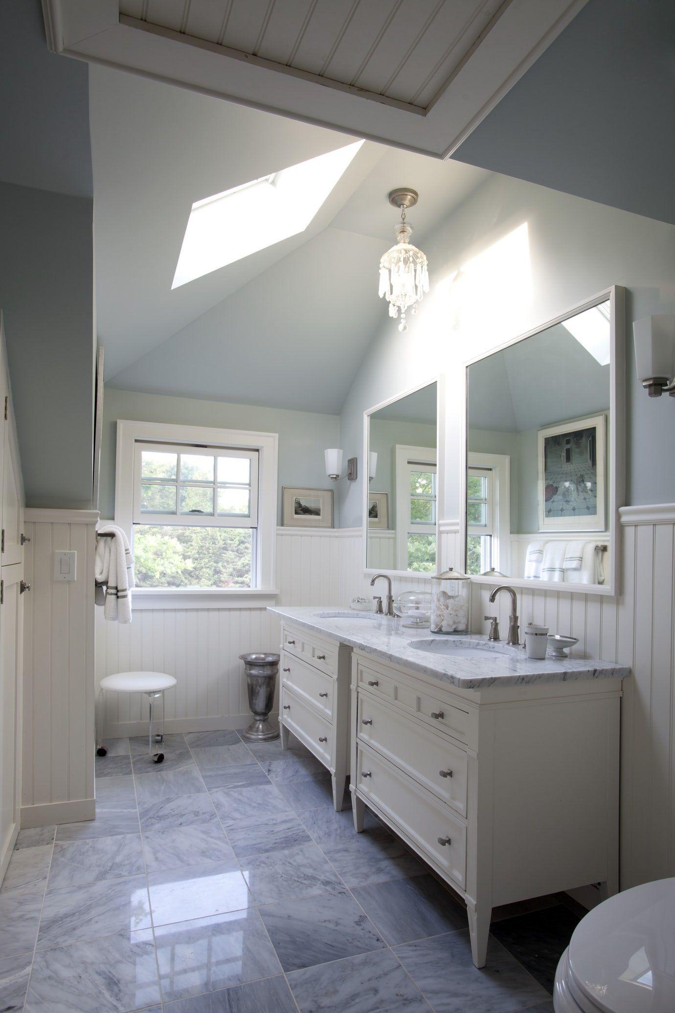 Master Bathroom of a House in the Hamptons Bath Design ...