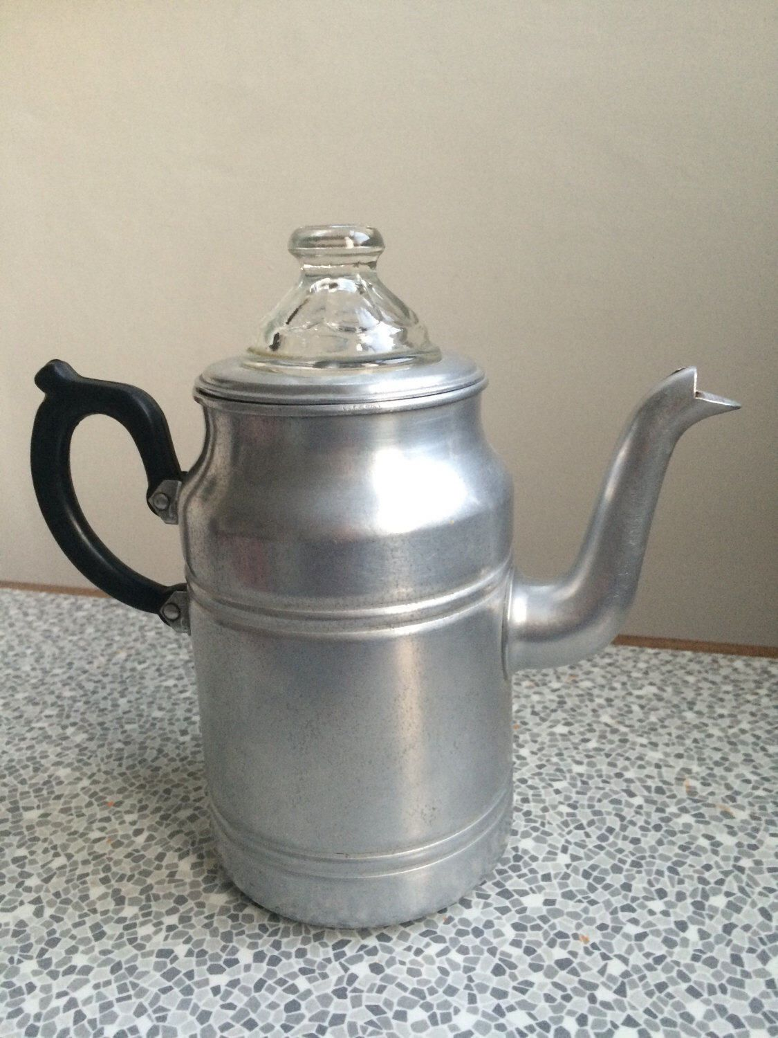 Vintage Coffee Percolator Tower Brand