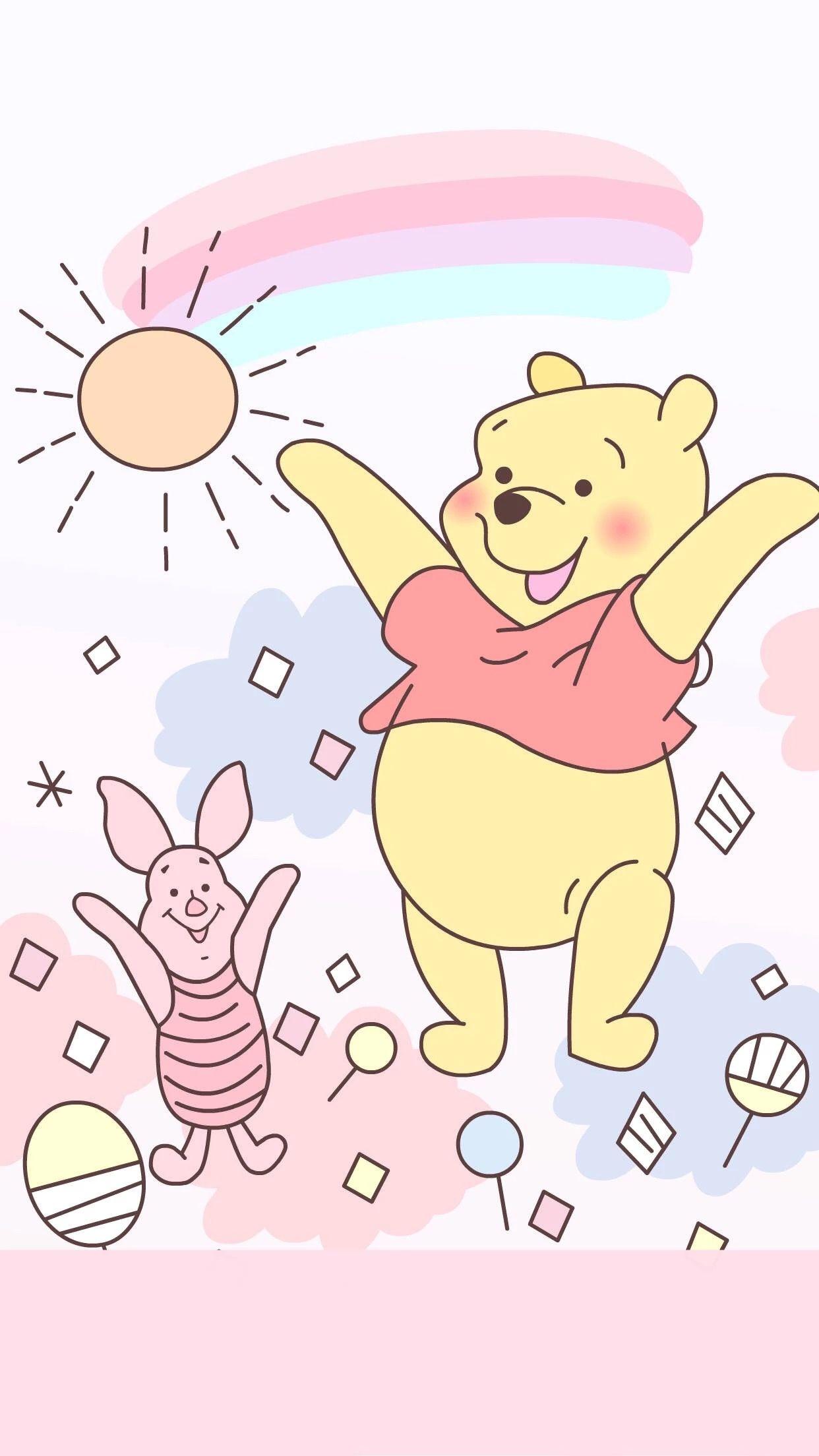 Pooh Bear & Piglet Homescreen | WINNIE THE POOH BEAR | Pinterest ...