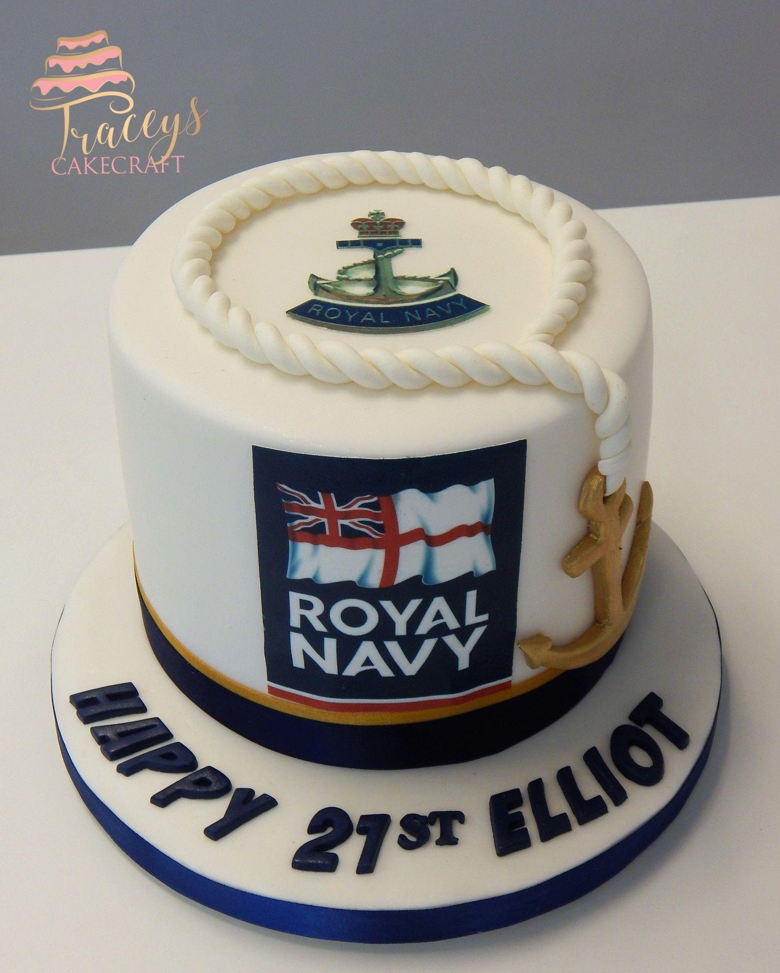 Incredible Royal Navy Birthday Cake Navy Cakes Boat Cake Navy Birthday Funny Birthday Cards Online Fluifree Goldxyz