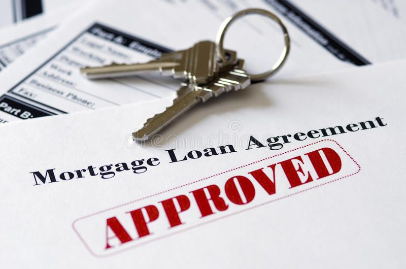Real Estate Mortgage Approved Loan Document With House Keys Sponsored Mortgage Approved Real Estate Loan Lenders Mortgage Approval Mortgage Loans