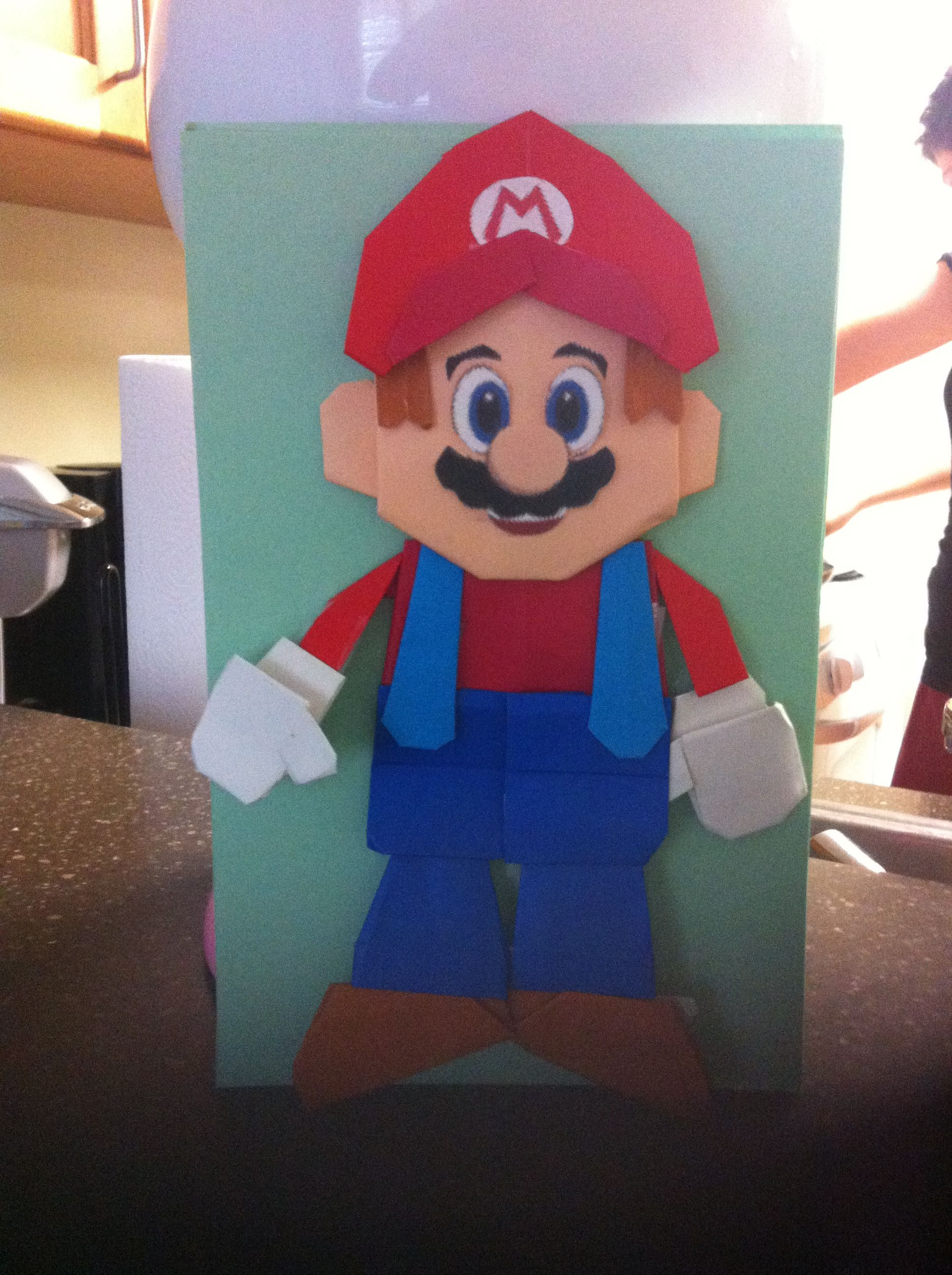Origami Mario My Creations Pinterest Origami Mario And May