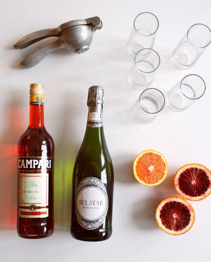 Recipe: A Blood Orange Campari Mimosa for Valentine\'s Day