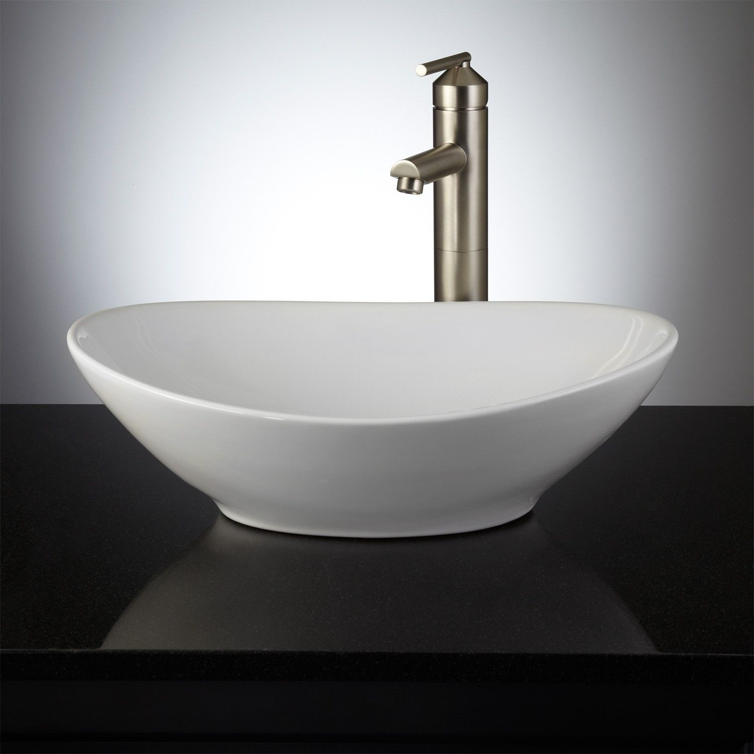 Valor Oval Vessel Sink No Overflow Holes White Vessel Sinks Bathroom Sinks Bathroom 画像あり ハウス