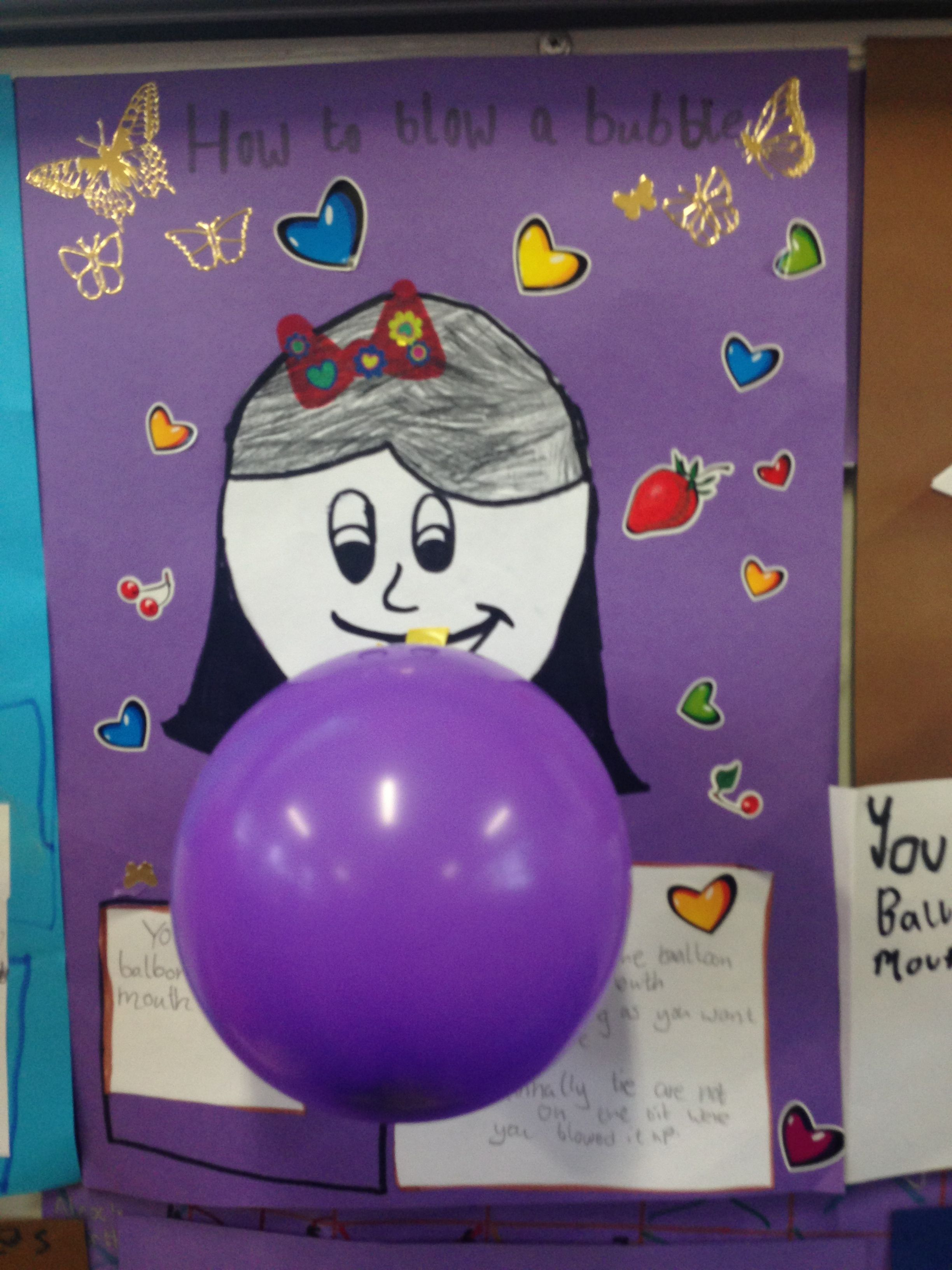 How To Blow A Balloon Procedural Text