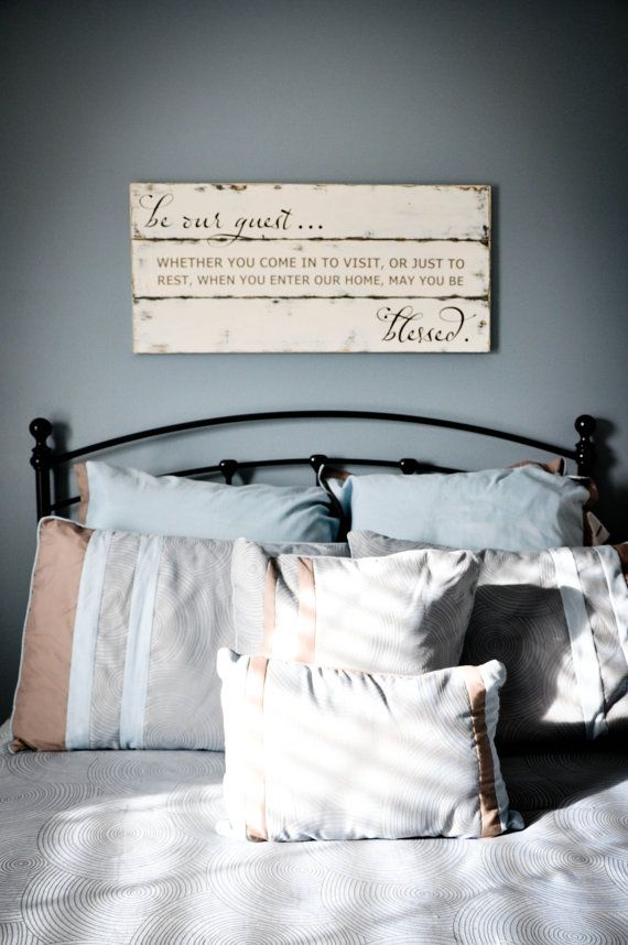 Guest Room Sign Decor Classy This Listing Is For Our Made To Order Wood Signdimensions Of The Inspiration