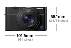Sony Rx100 Vi Pocket Size Travel Zoom Camera World S Fastest Af Zeiss Vario Sonnar T 24 200mm F2 8 4 5 Lens 1 Inch 20 1mp Sensor Optical Image Stabilization Touch Lcd 24fps Continuous Shooting With Af Ae Tracking And 4k
