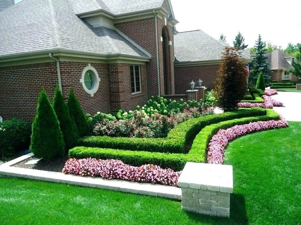 Some Of The Best Front Yard Landscaping For Your Dream House If You Are Fond Of Gardenin Front House Landscaping Front Lawn Landscaping Front Door Landscaping