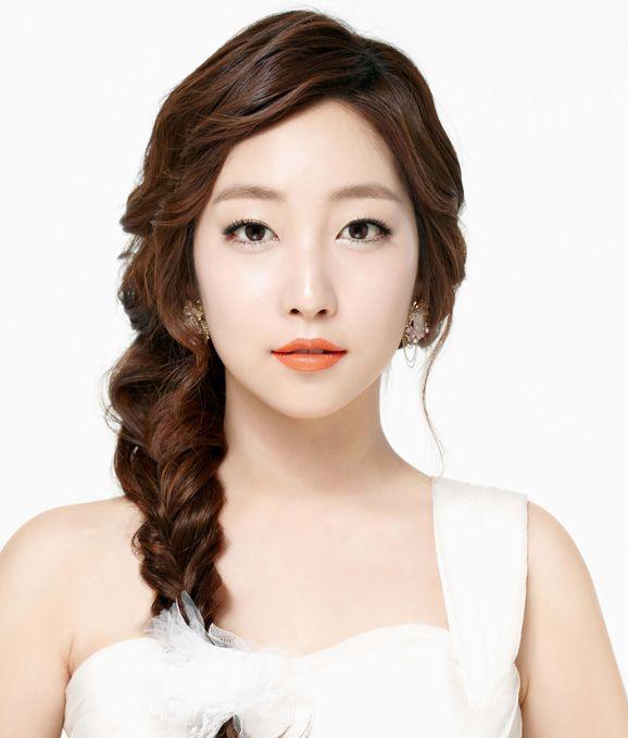 Korean Wedding Makeup 2017 : Peinados Coreanos en Pinterest Pelo Coreano, Peinados ...