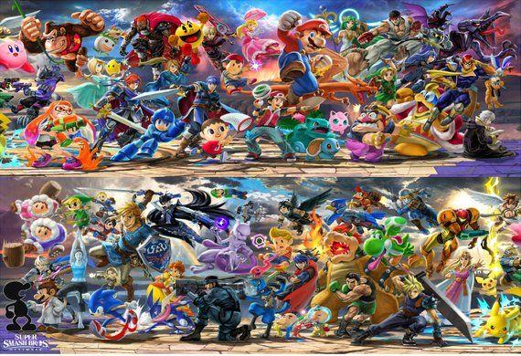 super smash bros ultimate characters
