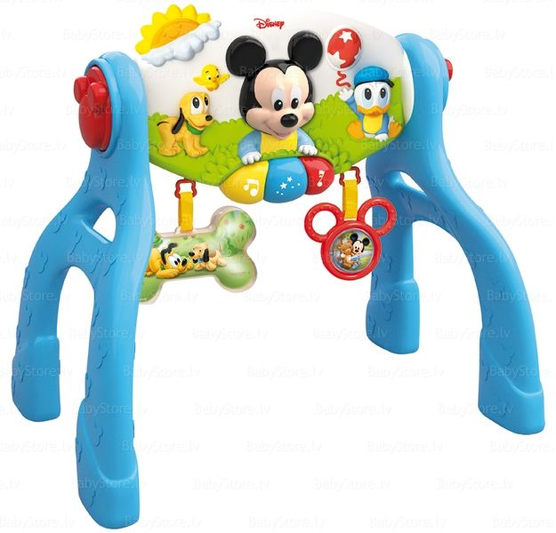 clementoni mickey mouse 14674 3 in 1 activity gym toys and games gyms - Mickey Mouse Online Games For Toddlers