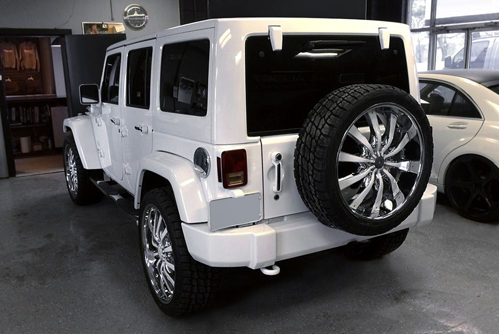 22 Inch Rims | Custom 22&quot- Wheel and Tire Packages at CARiD.com