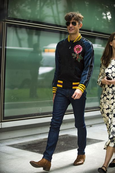 Chelsea Boots Herren Outfit The Best Street Style From Milan Fashion Week S/s '17