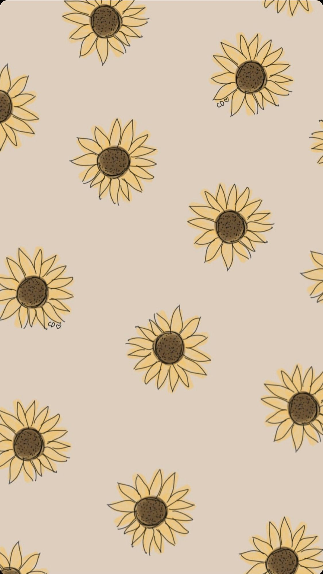 Pin By Sara Elizabeth On Phone Backgrounds Sunflower Iphone Wallpaper Iphone Background Wallpaper Sunflower Wallpaper