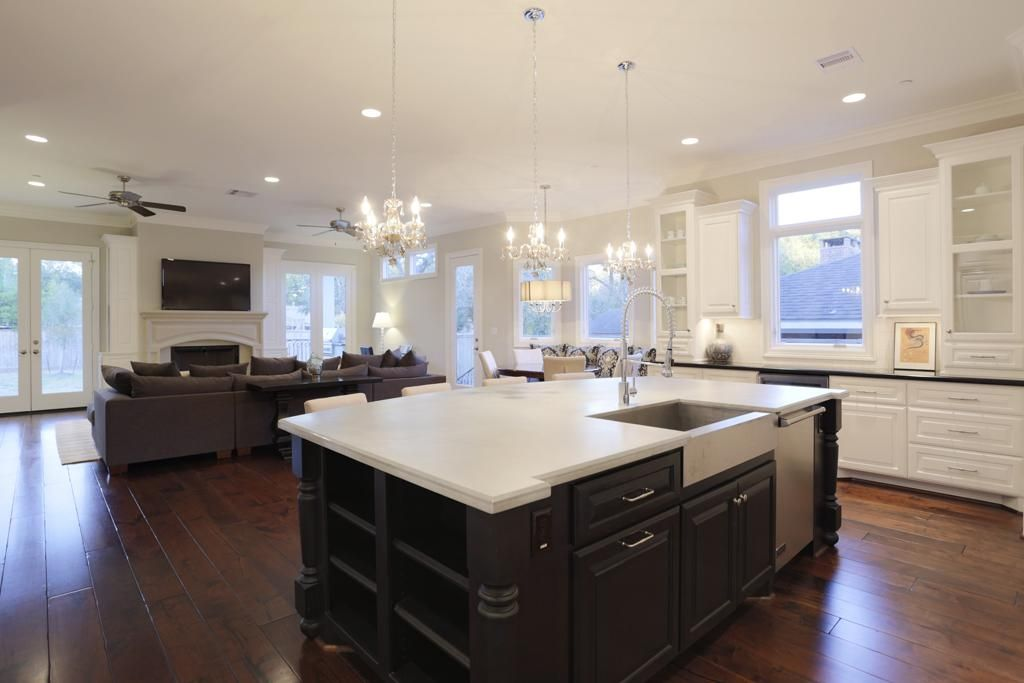 open concept great room - Google Search | General Kitchen ...