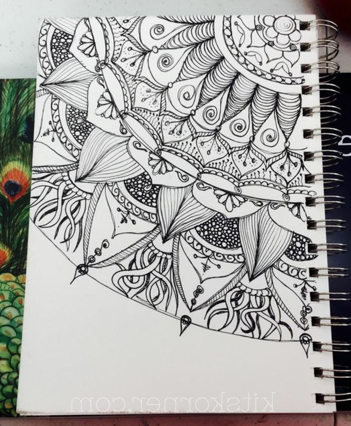 ▷ 1001+ ideas de dibujar mandalas fáciles e interesantes | mandalas ...