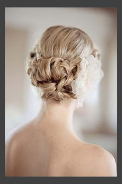 short hair up dos for weddings | Hairstyles, Short Hair Updos For ...