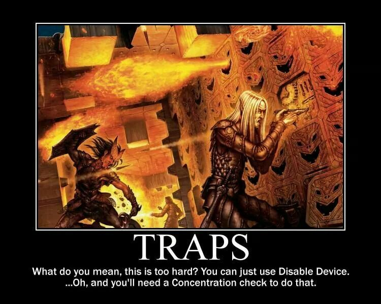 Evil DMs guide to dungeons