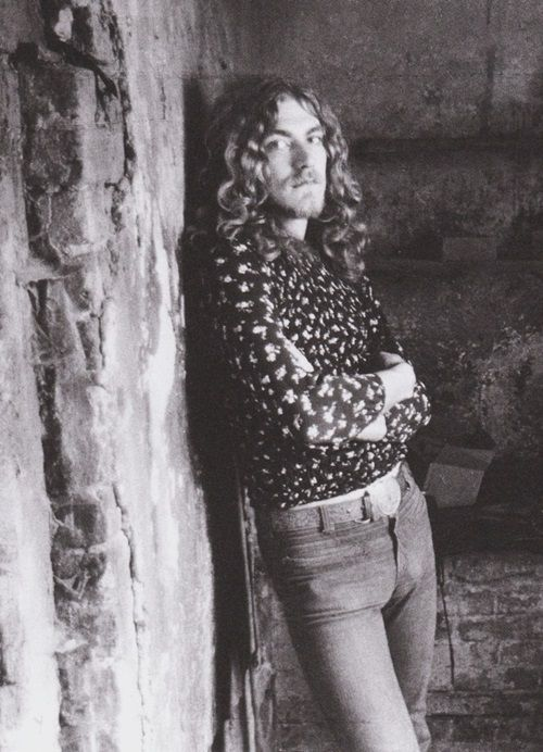 """"""" Robert Plant at his farm in England, 1970. """""""