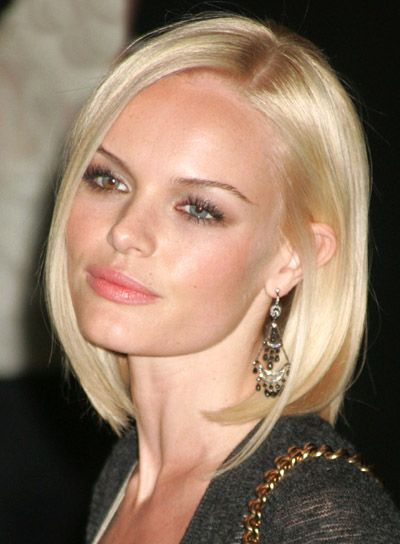 Kate Bosworth - one brown, one blue.