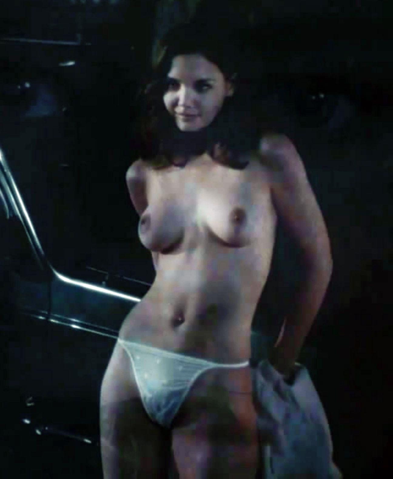 Topless sex scenes