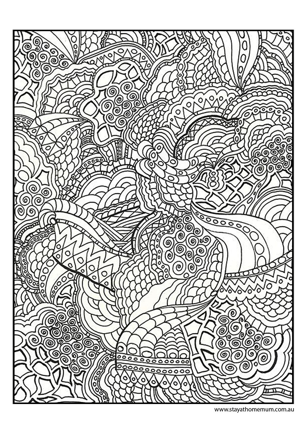 printable colouring pages for kids and adultsfun free printables - Coloring Posters Printable