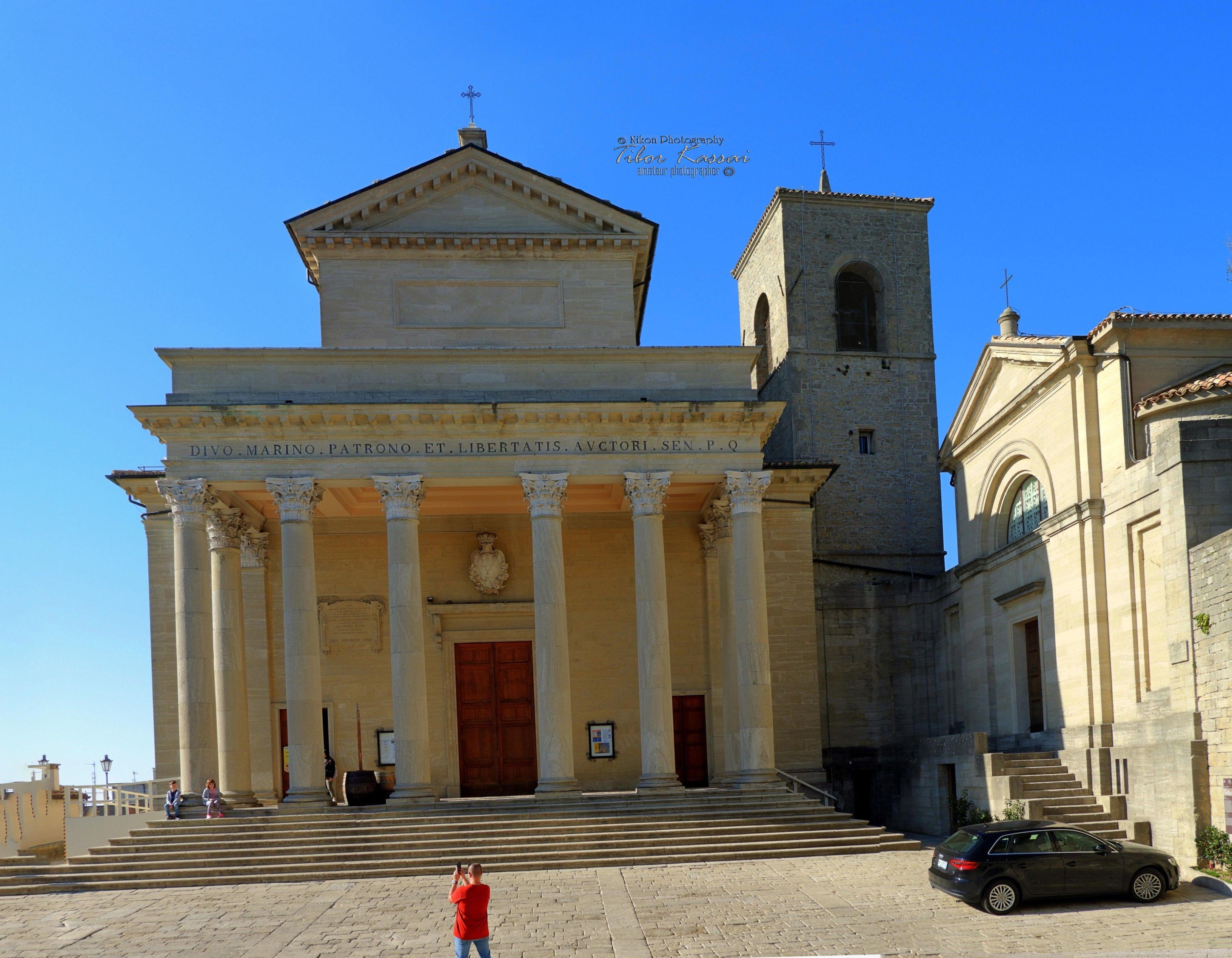 Cathedral Of San Marino Basilica Del Santo San Marino City Republic Of San Marino Nikon Coolpix B700 7 2mm 1 640s 1 4 House Styles San Marino Mansions