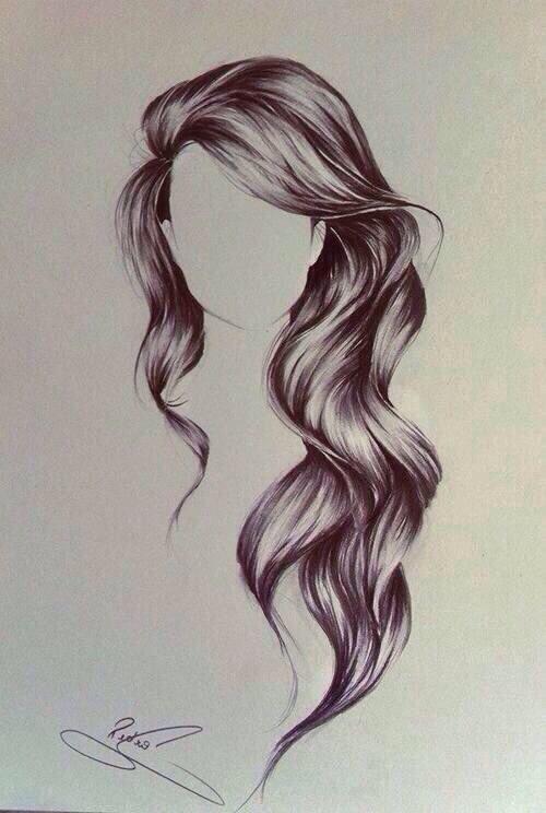 Lange Haare Zeichnen Moderne Frisuren