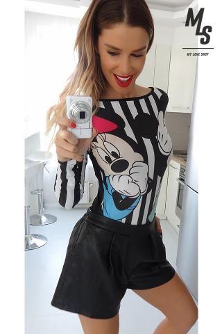 ca100deb0e Crazy striped Disney Mickey body Sugarbird fashion Ale, Női Divat, Peplum