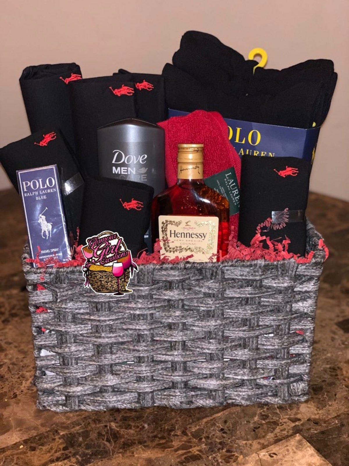 polo giftbasket for him on Mercari