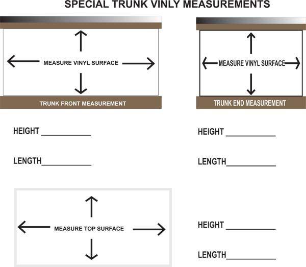 Replacement Vinyls For Tack Trunk Tack Box Tack
